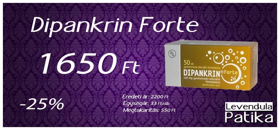 Dipankrin Forte akció